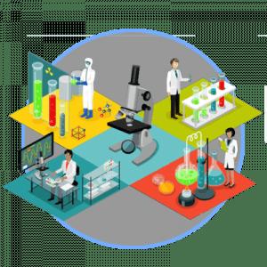 Sistema de filtración para laboratorios